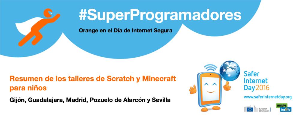 SuperProgramadores en el Día de Internet Segura
