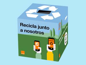 Reciclaje de móviles