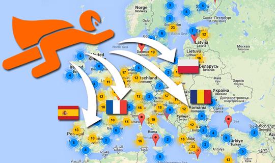 Mapa SuperProgramadores